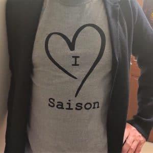 I love Saison tee-shirt