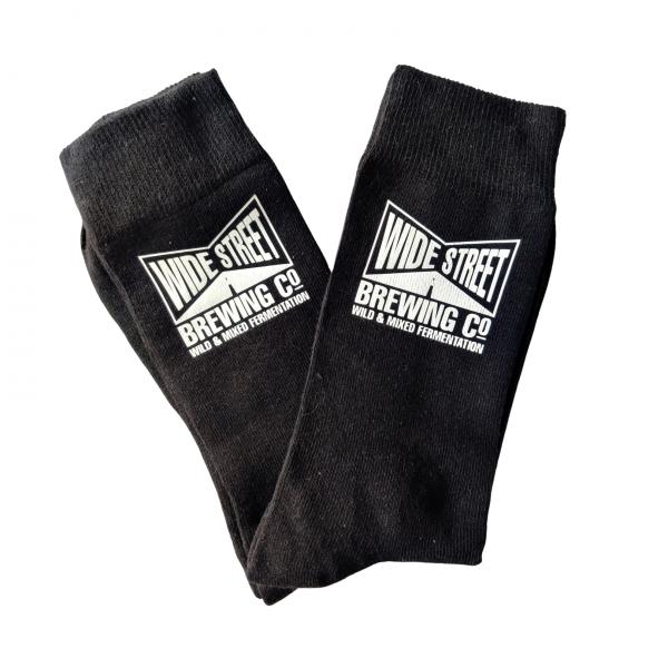 Branded socks